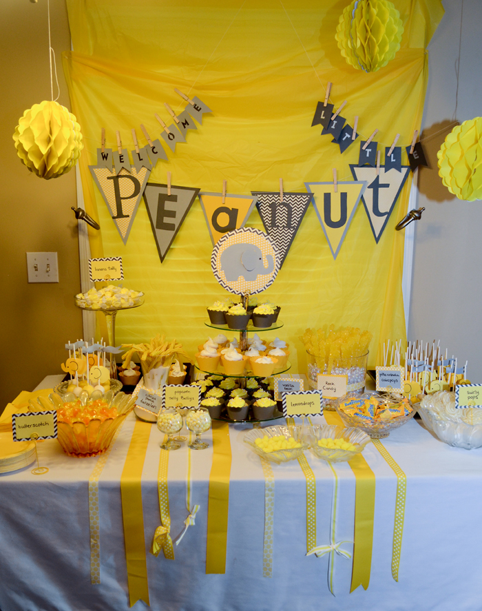 diamonds blog archive welcome little peanut baby shower 1